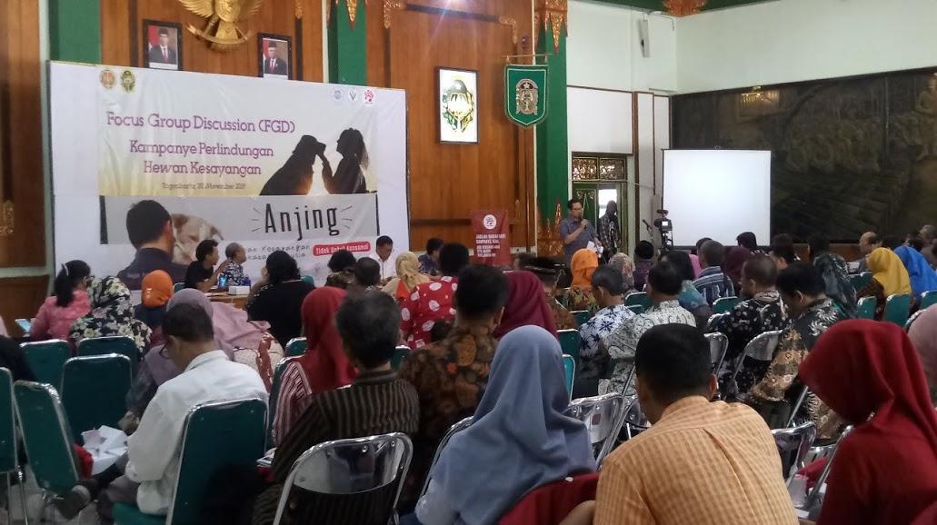 Pembukaan Acara DI buka Oleh Bapak Wakil Walikota Kota Yogyakarta