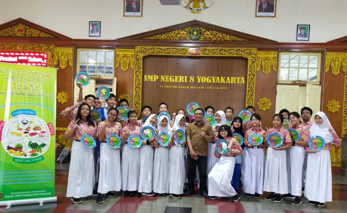 Sosialisasi B2SA di SMP N 8 Kota Yogyakarta