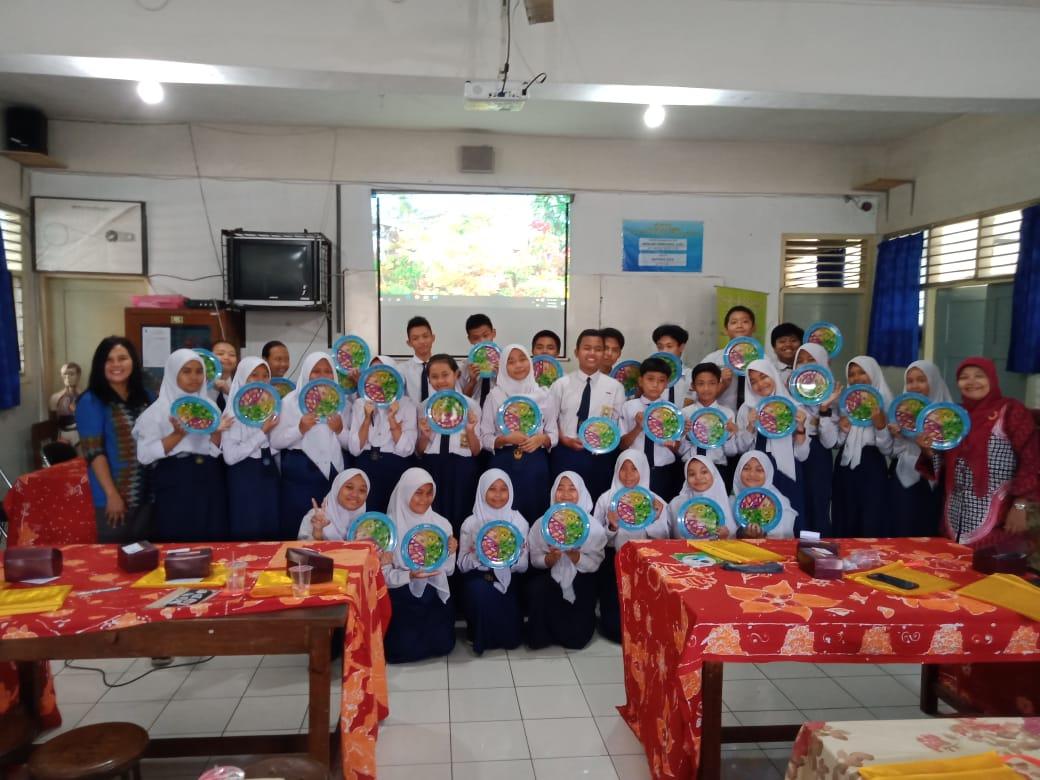 Sosialisasi B2SA di SMP N 11 Kota Yogyakarta