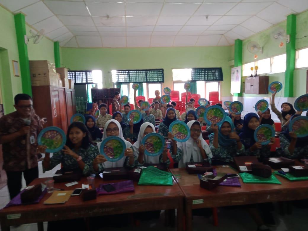Sosialisasi B2SA di SMP N 13 Kota Yogyakarta