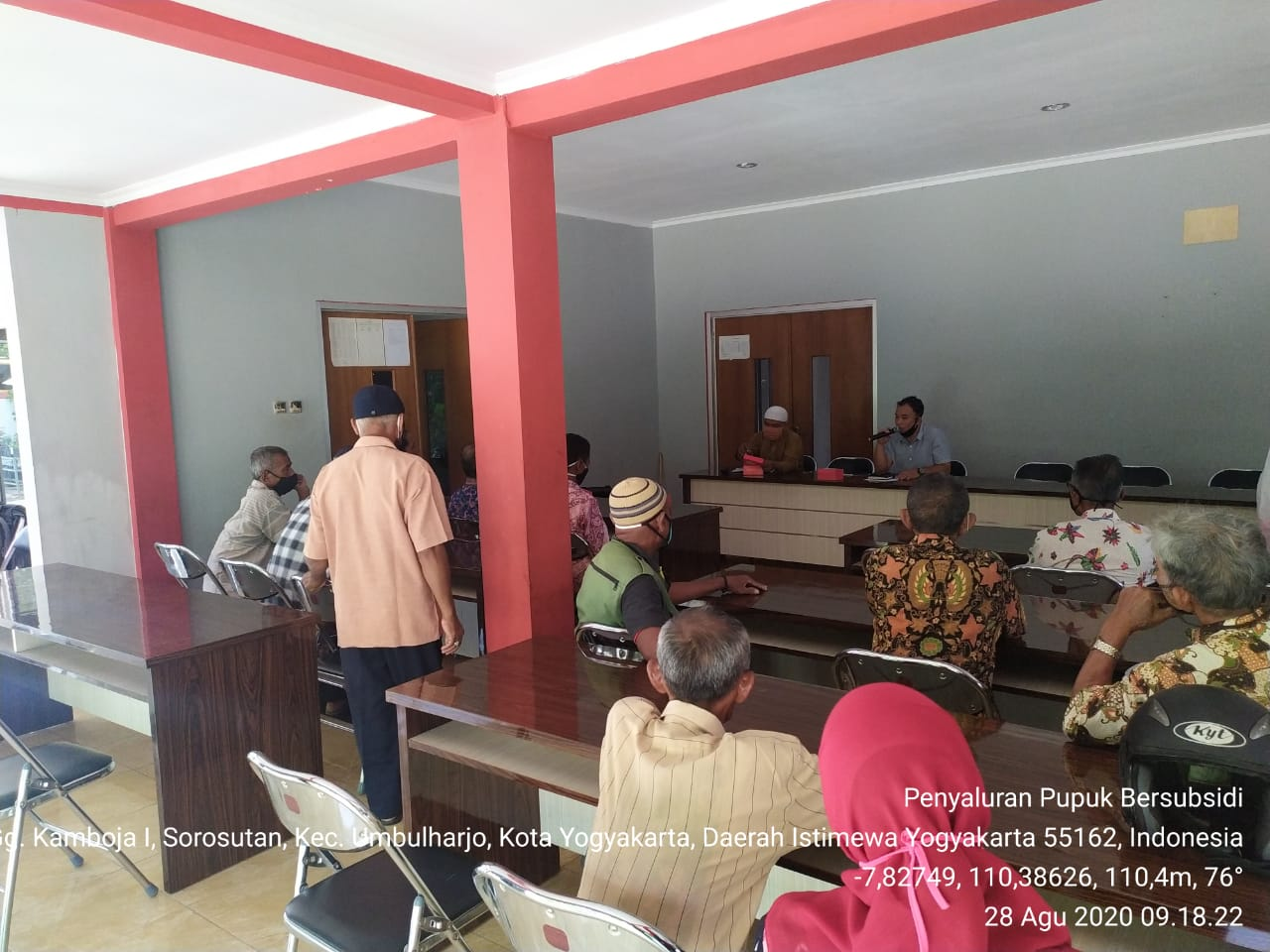 Penyusunan e-RDKK Kecamatan Umbulharjo