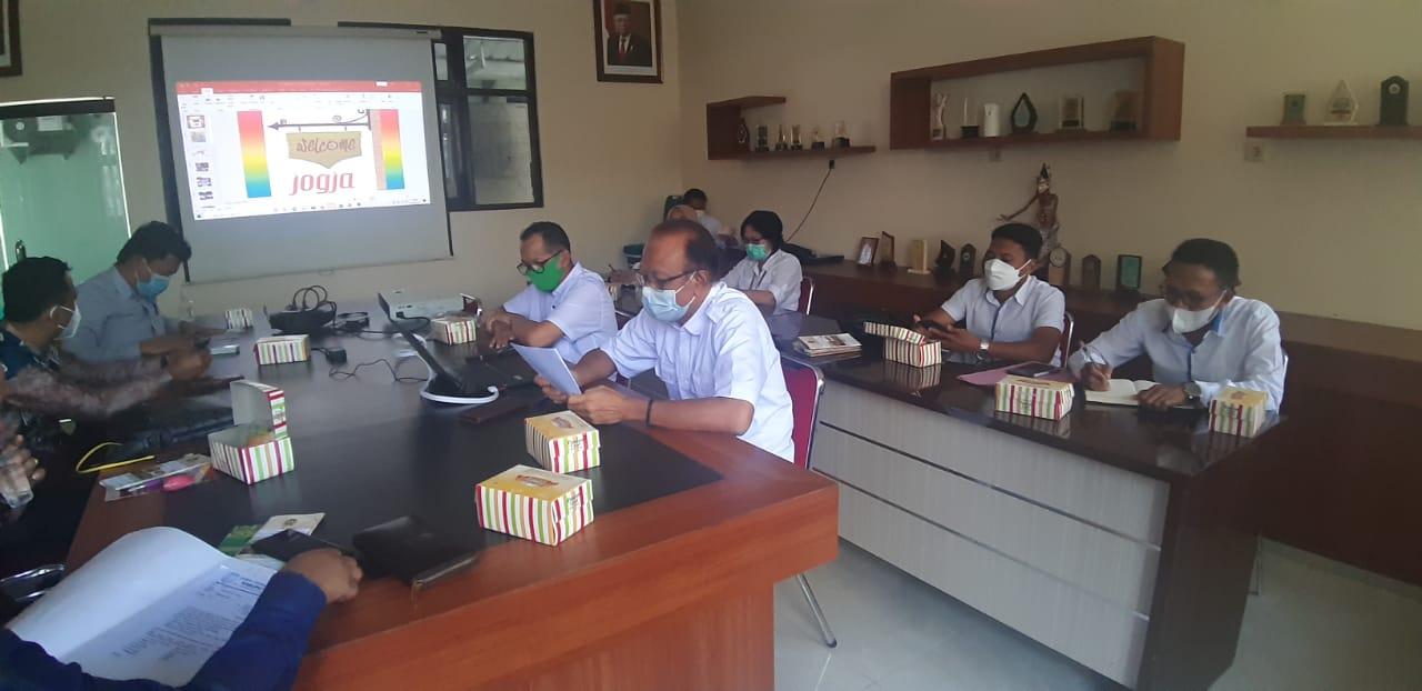 Kunjungan Kerja Komisi 2 DPRD Kab Korabaru Kalimantan Selatan ke DPP