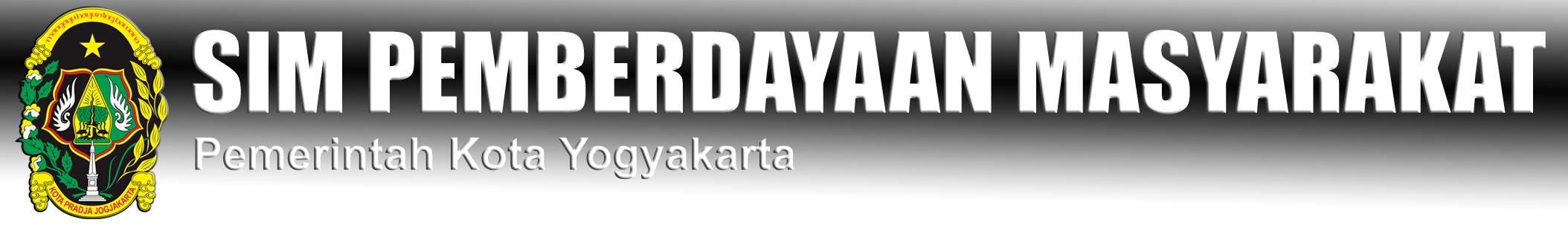SIM Pemberdayaan masyarakat Kota Yogyakarta